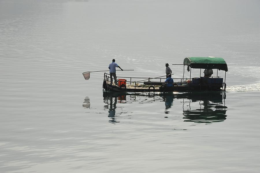 Fishermen, Sun Moon Lake