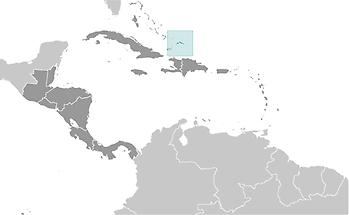 Turks and Caicos Islands in Central America and Caribbean