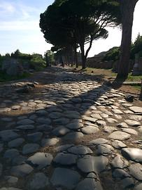 Ostia - Historical road, Photo: T. Högg