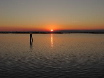 Lagune of Venice - Sundown, Photo: T. Högg