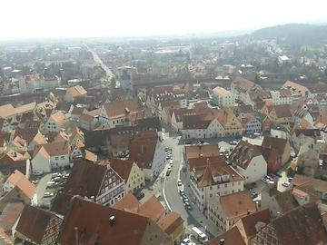 View from the top of the Daniel, Photo: T. Högg