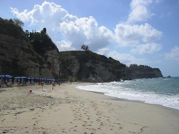 Calabria - Tropea Beach, Photo: T. Högg