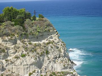 Calabria - Tropea rock cliff, Photo: T. Högg