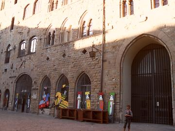 Volterra, Piazza dei Priori - Main Square, Photo: T. Högg