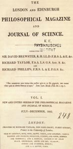 The London and Edinburgh Philosophical Magazine and Journal of Science, 1832