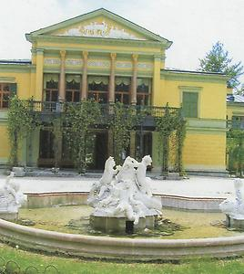 Die Kaiservilla in Bad Ischl.