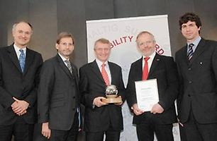 Verleihung 'Sustainability Award'