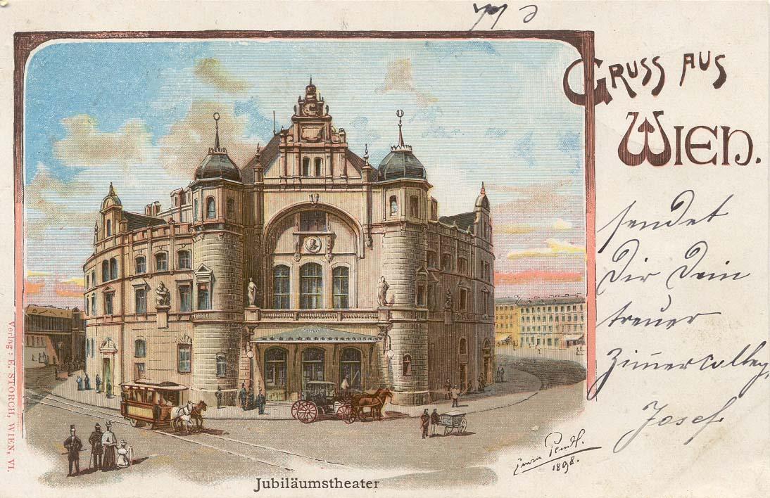 Почтовые открытки австрии