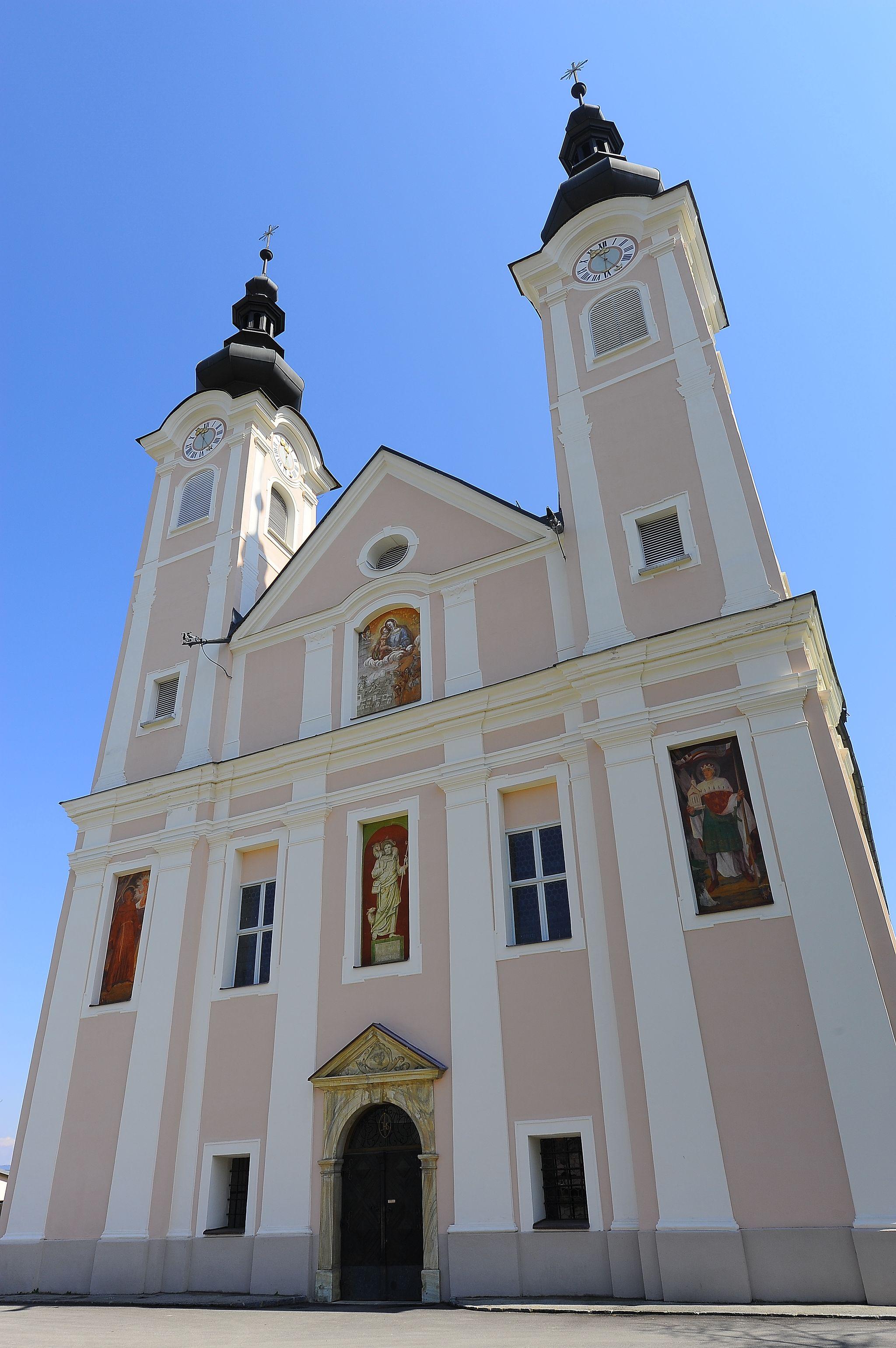 Pfarrkirche Maria Hilf und Hl Peter und Paul | Ebenthal | Bilder im ...