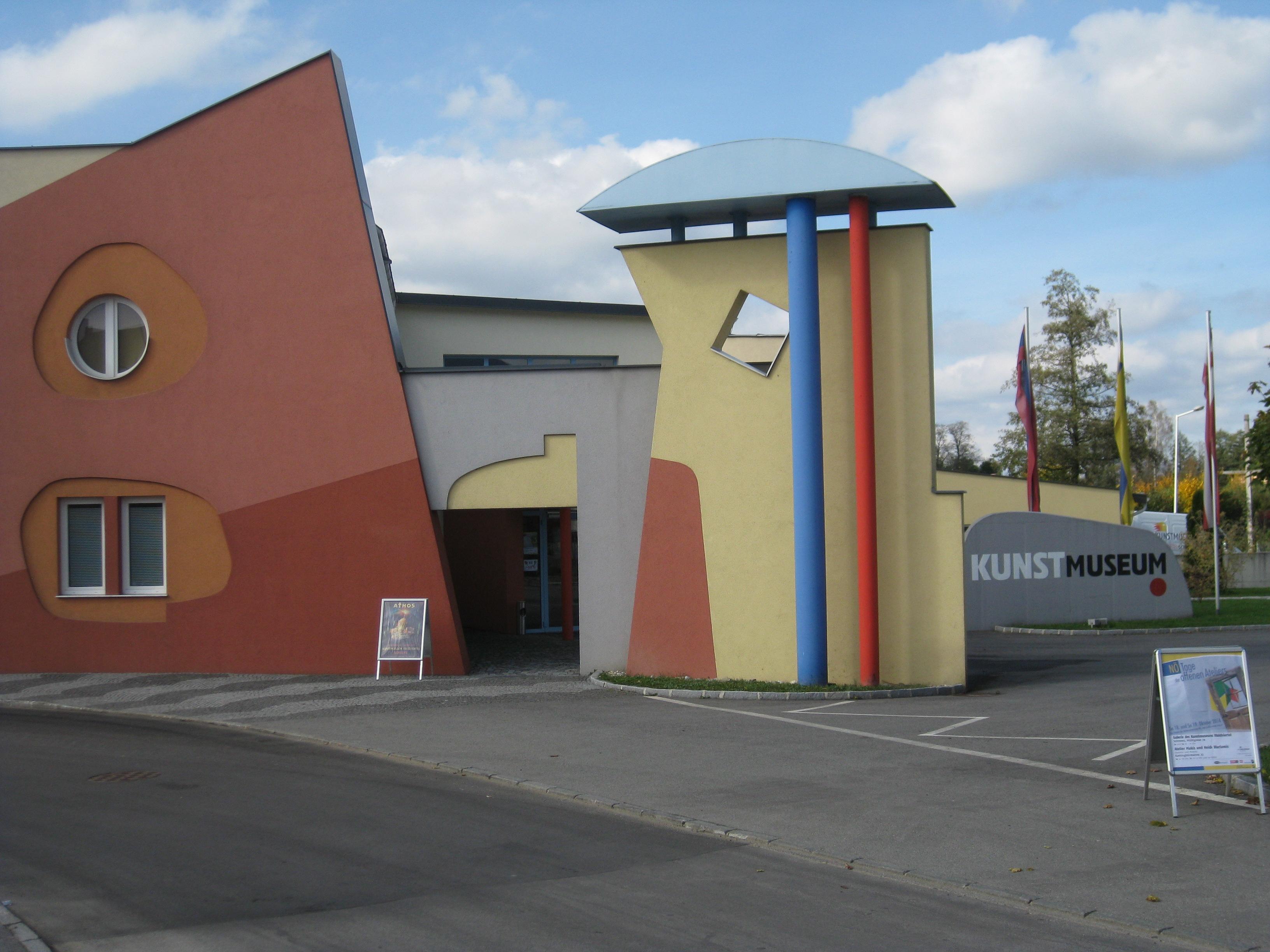 kunstmuseum waldviertel schrems nieder sterreich bilder im austria forum. Black Bedroom Furniture Sets. Home Design Ideas
