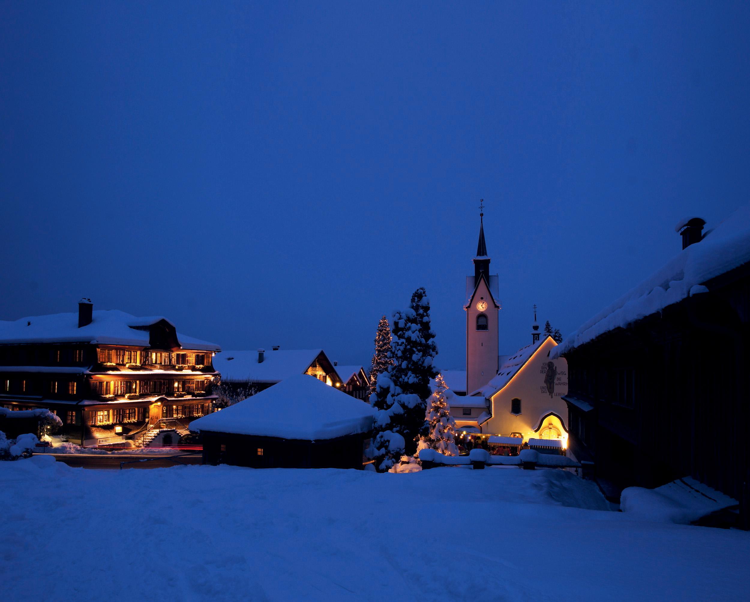 Weihnachtsmarkt Schwarzenberg.Weihnachtsmarkt Schwarzenberg Vorarlberg Bilder Im Austria Forum