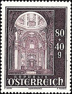 Briefmarke Salzburger Dom