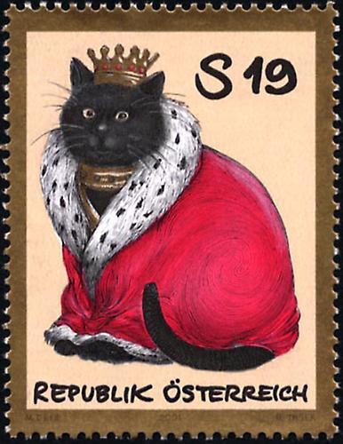 Haustiere - Katze | 2001 | Briefmarken | Kunst und Kultur im Austria ...