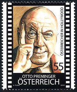Briefmarke, Otto Preminger