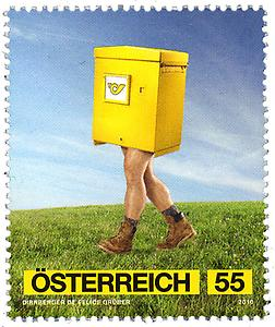 Briefmarke, Post-Werbekampagne 2010