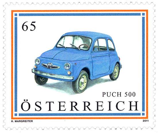 Puch 500 2011 briefmarken alltagskultur