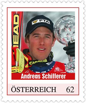 Briefmarke, Andreas Schifferer