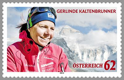 Briefmarke, Gerlinde Kaltenbrunner