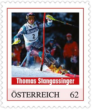 Briefmarke, Thomas Stangassinger