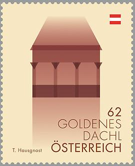 Briefmarke, Goldenes Dachl
