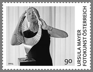 Briefmarke, Ursula Mayer