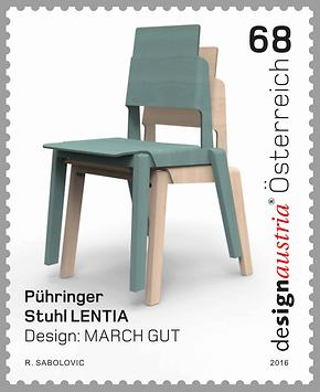 Briefmarke, Design (in) Austria