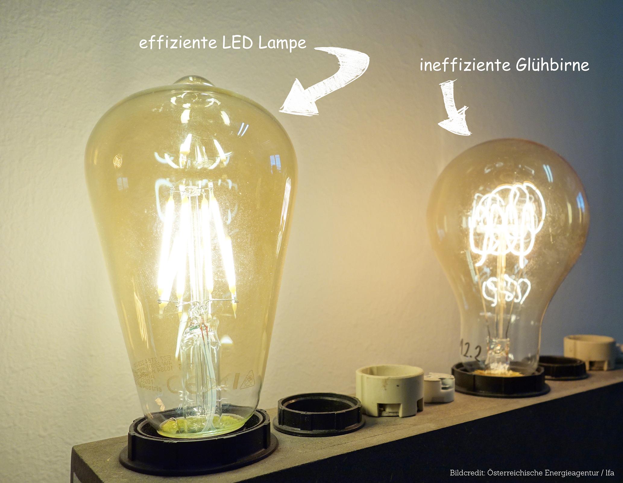 Moderne Lampen 16 : Leds vs. dekoglühlampen Ökologie essays im austria forum