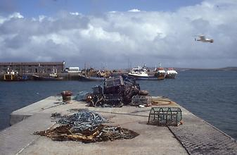 Port of the island Inishmore