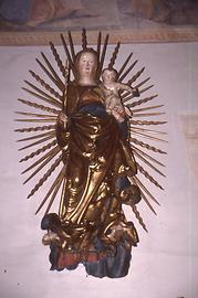 Miraculous image of the Madonna