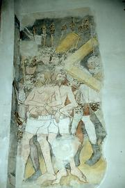 Older fresco cycles were rediscovered in the 20th century