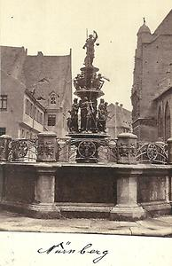 Fountain of the Virtues - historical