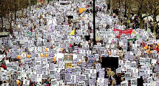 Demonstration, London 2003