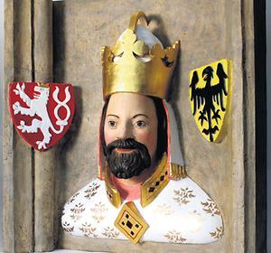 Relief Karl IV.