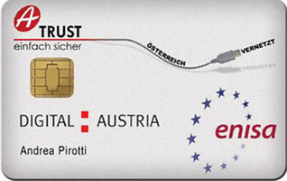 Bürgerkarte von A. Pirotti (Executive Director ENISA)