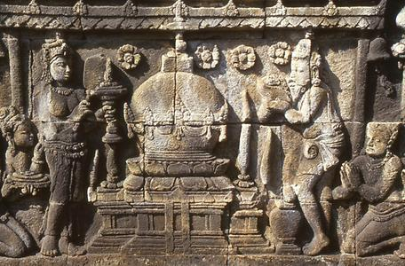 Depiction of Stupa