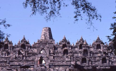 Borobudur terraces