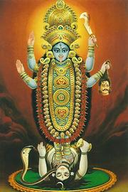 Depiction of Kali