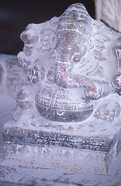 Stone sculpture of God Ganesha belonging to the circle of Shiva
