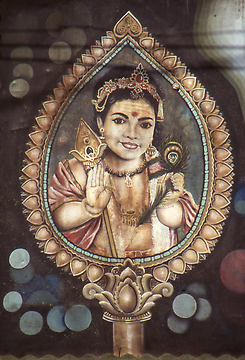 Murugan Kathirvel - Karttikeya with the lance. Son of Shiva and Minakshi