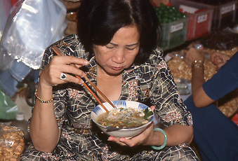 The Vietnamese Pho, a substantial noodle soup