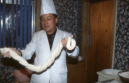 Making of noodles