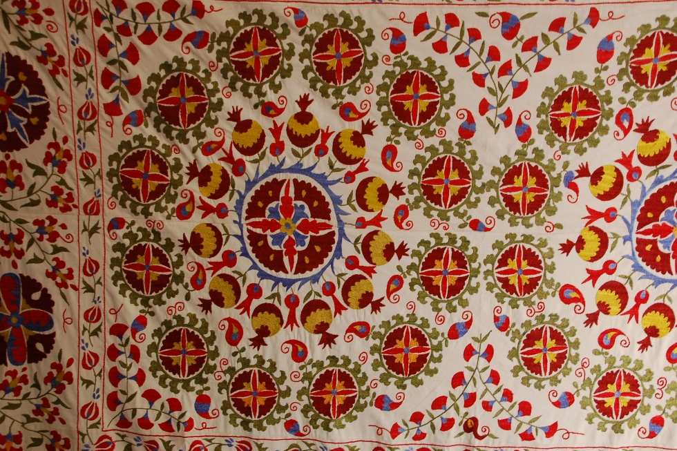 Suzain Embroidery In Uzbekistan Special Information Geography