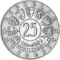 25 Schilling Kärntner Volksabstimmung 1960 1960 Kunst Und