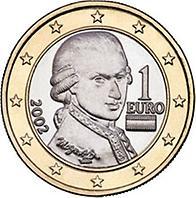 1 Euro österreich 2002 Münzen Kunst Und Kultur Im Austria Forum