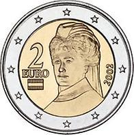2 Euro österreich 2002 Münzen Kunst Und Kultur Im Austria Forum