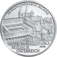 10 Euro Abtei Seckau 2008 2008 Münzen Kunst Und Kultur Im
