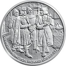 10 Euro - Richard Löwenherz in Dürnstein (2009)