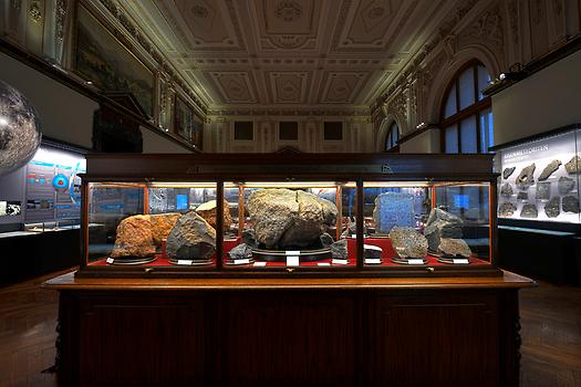Meteoritensaal des NHM, Photo NHM