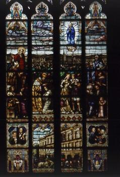 Linzer window of the Votiv Chapel