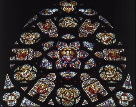 Rose Window of the Votive Chapel
